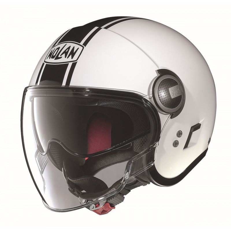 Capacete Nolan N21 Visor Duetto Branco  C/ Viseira Solar Interna MegaOferta!  - Motosports