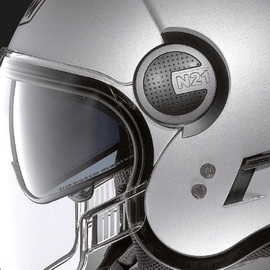 Capacete Nolan N21 Visor Duetto Preto Fosco Cor 10 C/ Viseira Solar Interna  - Motosports