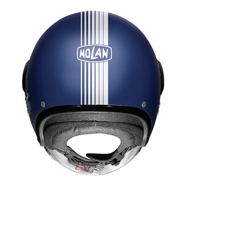 Capacete Nolan N21 Visor Joie de Vivre Flat Imperator Blue (53) C/ Viseira Solar Interna MegaOferta!  - Motosports