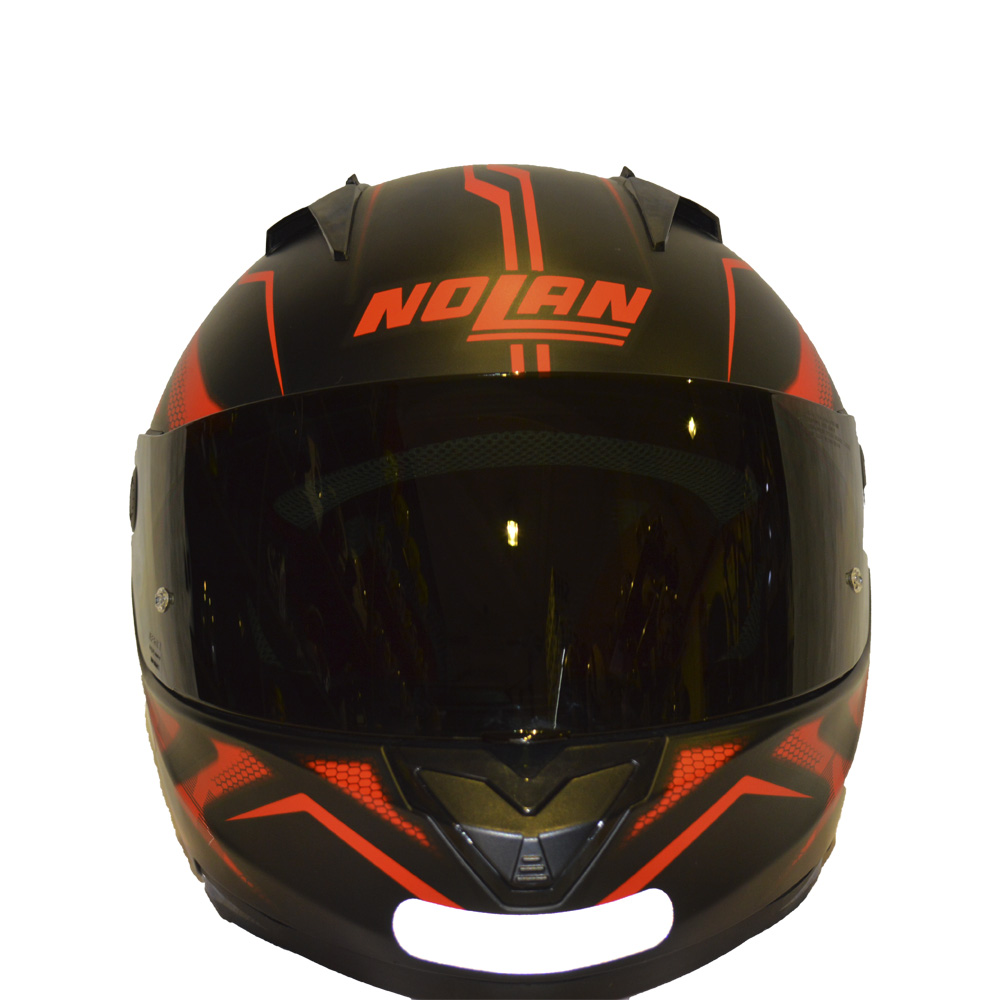 CAPACETE NOLAN N64 - FLAZY RED/BLACK   - Motosports