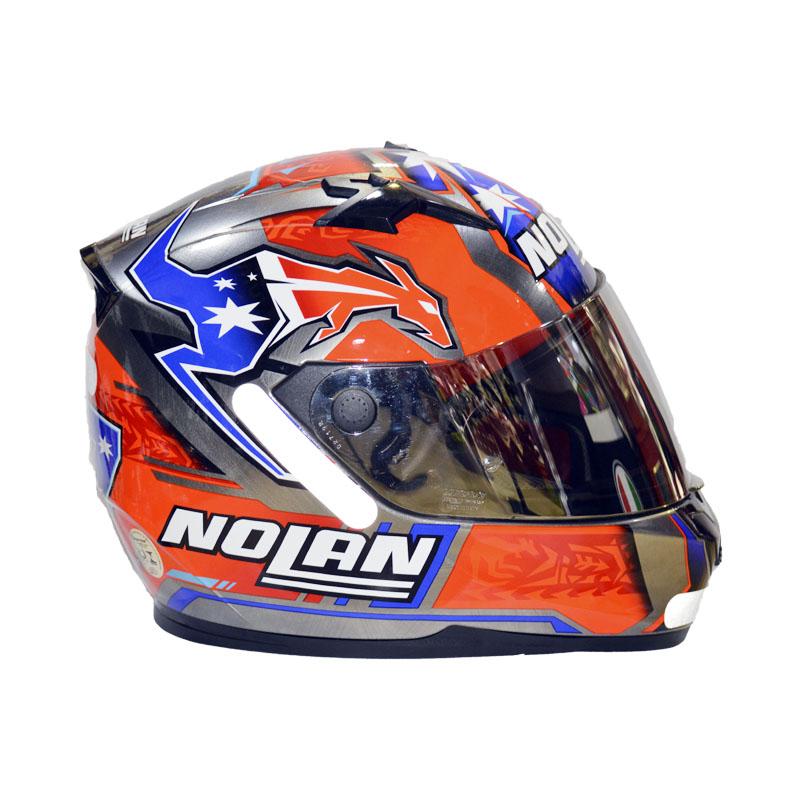 CAPACETE NOLAN N64 GEMINI RÉPLICA - C. STONER SUZUKA - SCRATCHED CHROME - EDIÇÃO LIMITADA   - Motosports