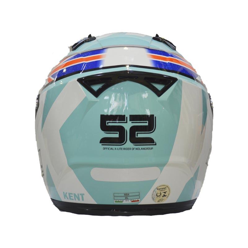 CAPACETE NOLAN N64 GEMINI RÉPLICA - D. KENT - AQUAMARINE (COMPRE E GANHE UMA BALACLAVA)  - Motosports