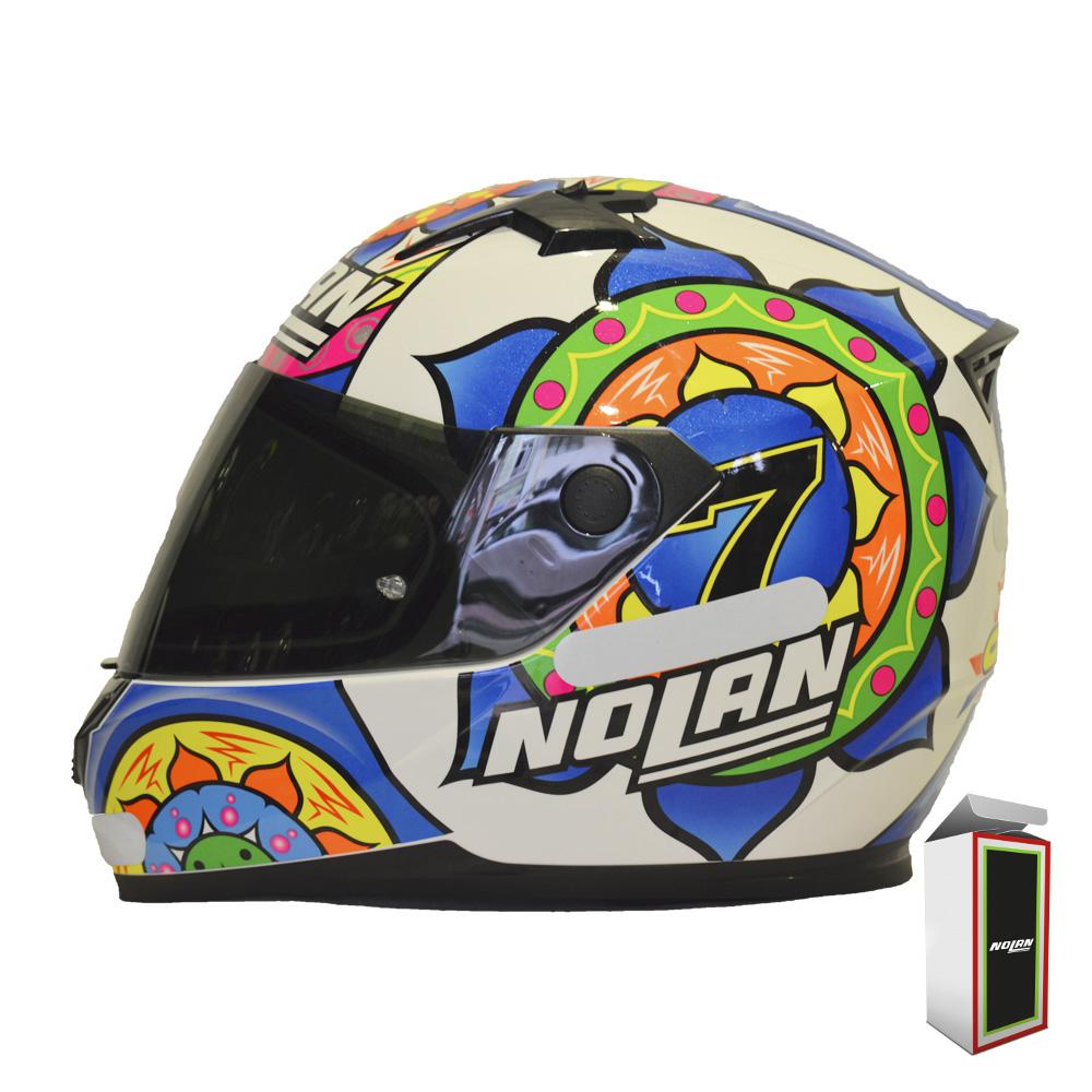 CAPACETE NOLAN N64 - RÉPLICA C. DAVIES SEPANG   - Motosports