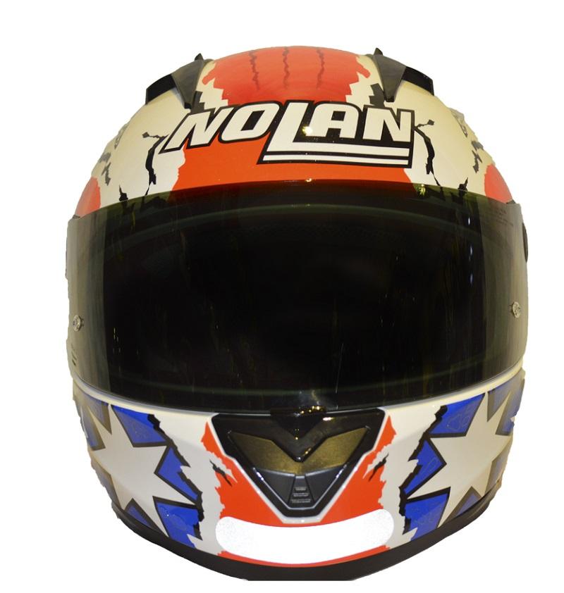 Capacete Nolan N64 Réplica Gemini Stoner (COMPRE E GANHE UMA BALACLAVA)  - Motosports