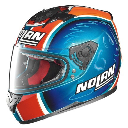 CAPACETE NOLAN N64 RÉPLICA MELANDRI PEARL BLUE  - Motosports