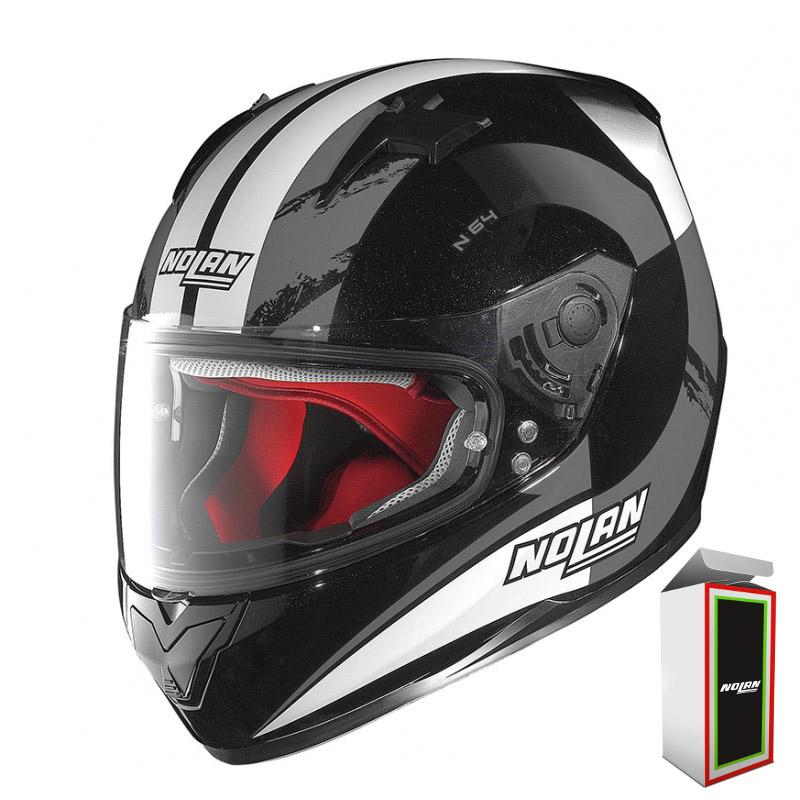 CAPACETE NOLAN N64 TWIRL - METAL BLACK (COMPRE E GANHE UMA BALACLAVA)  - Motosports