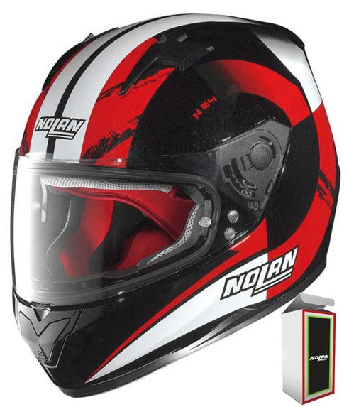 CAPACETE NOLAN N64 TWIRL - RED (COMPRE E GANHE UMA BALACLAVA)  - Motosports