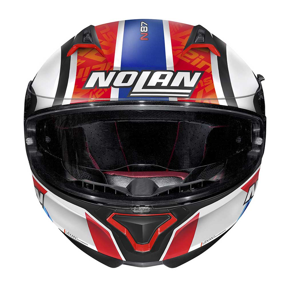 Capacete Nolan N87 Alex Rins (Réplica Oficial Piloto Suzuki) 95 C/ Viseira Solar - Ganhe Touca Balaclava  - Motosports