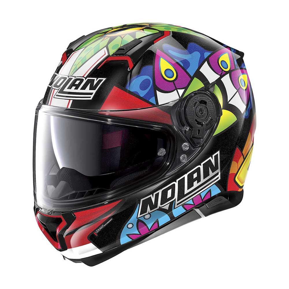 Capacete Nolan N87 Chaz Davies 3 (Réplica Oficial Piloto) 108 C/ Viseira Solar - Ganhe Touca Balaclava  - Motosports