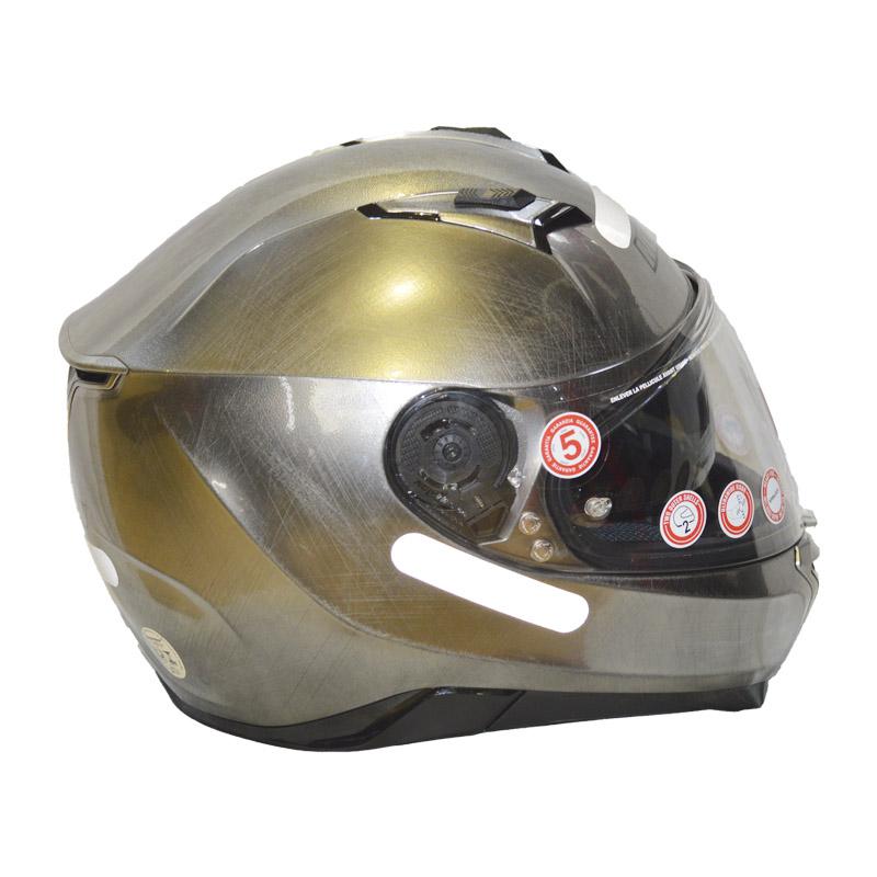 Capacete Nolan N87 CLASSIC N-COM 10 PRETO  - Motosports