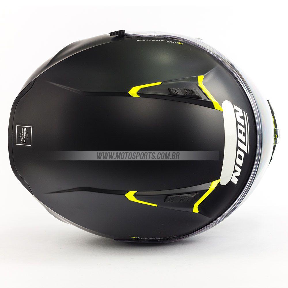 CAPACETE NOLAN N87 EMBLEMA AMARELO FOSCO (72)  - Motosports