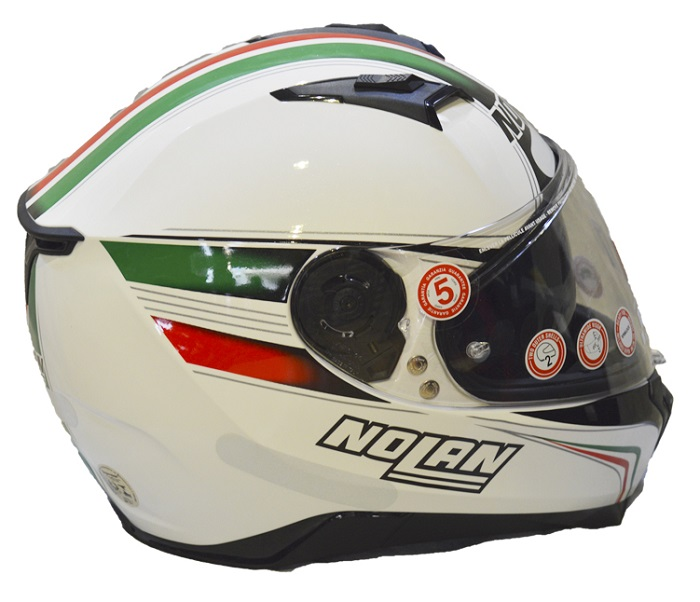 Capacete Nolan N87 ITALY N-COM (COMPRE E GANHE UMA BALACLAVA)  - Motosports