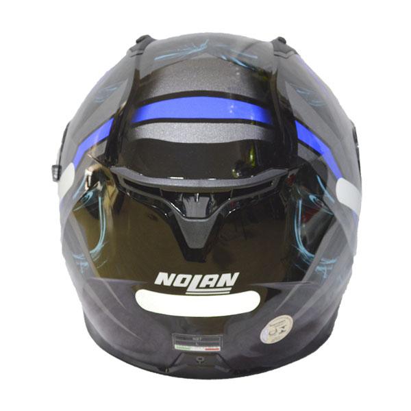 CAPACETE NOLAN N87 LEDLIGHT N-COM - GLOSSY BLACK (COMPRE E GANHE UMA BALACLAVA)  - Motosports