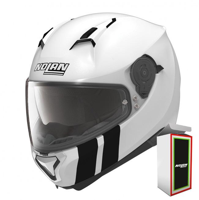 Capacete Nolan N87 MARTZ N-COM 27 METAL WHITE (COMPRE E GANHE UMA BALACLAVA)  - Motosports