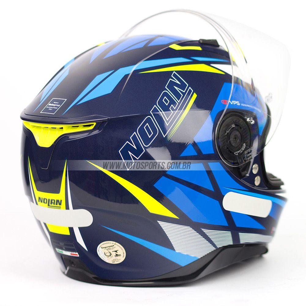 CAPACETE NOLAN N87 ORIGINALITY AZUL (67)  - Motosports