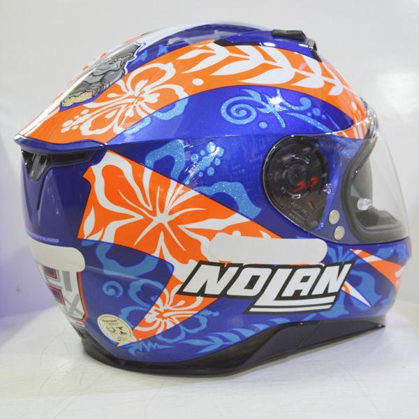 Capacete Nolan N87 Petrucci Oficial C/ Viseira Solar - NOVO! - Ganhe Touca Balaclava  - Motosports