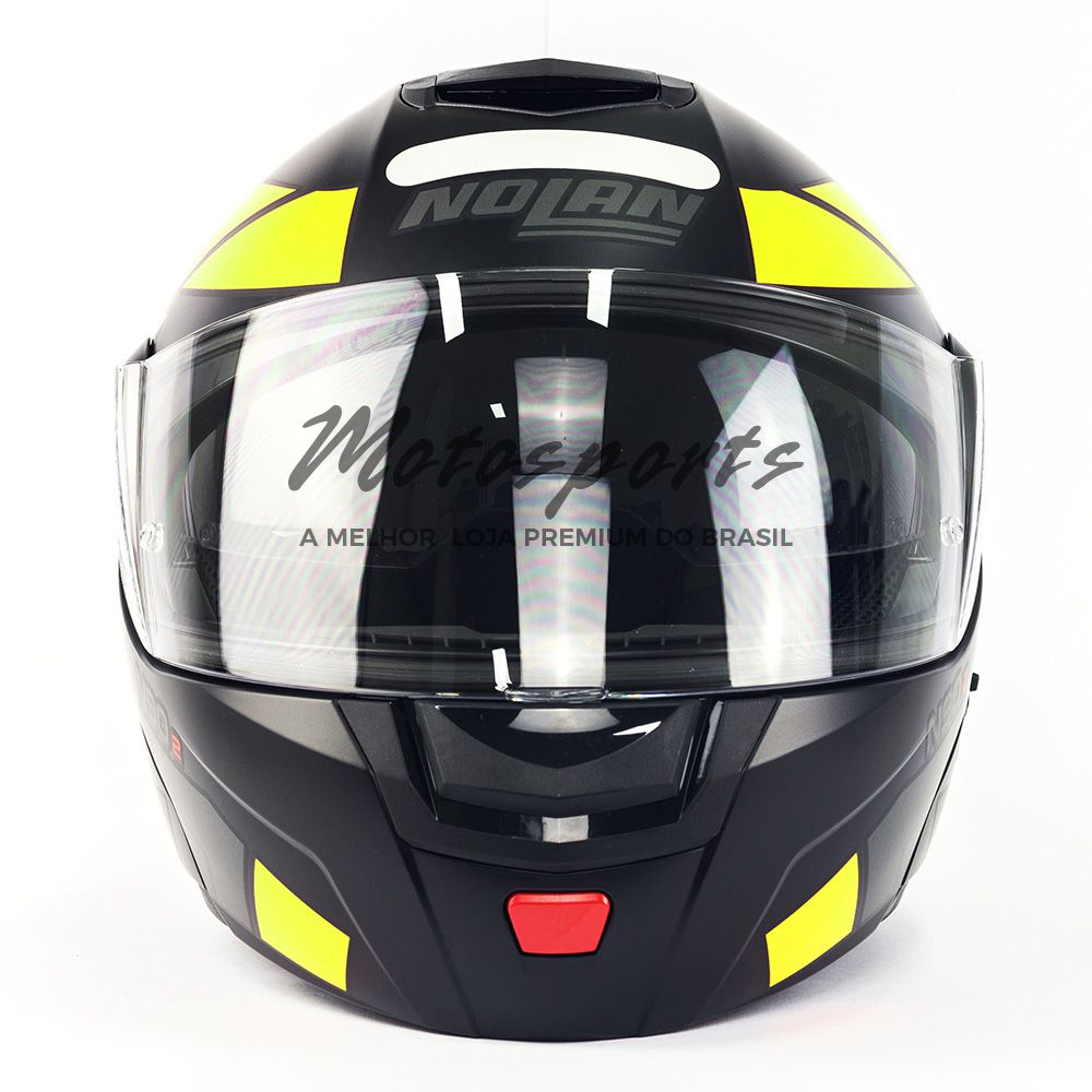 CAPACETE NOLAN N90-2 EUCLID AMARELO FOSCO (27)  - Motosports