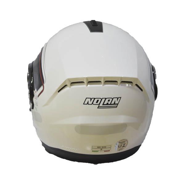 CAPACETE NOLAN N91 EVO AMMERSEE N-COM - BRANCO/PRETO - C/ VISEIRA INTERNA (COMPRE E GANHE UMA BALACLAVA)  - Motosports