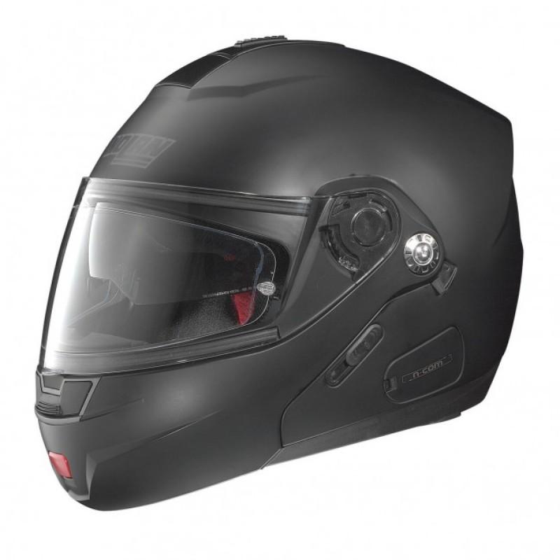CAPACETE NOLAN N91 EVO CLASSIC N-COM - FLAT BLACK PRETO - C/ VISEIRA INTERNA (COMPRE E GANHE UMA BALACLAVA)  - Motosports