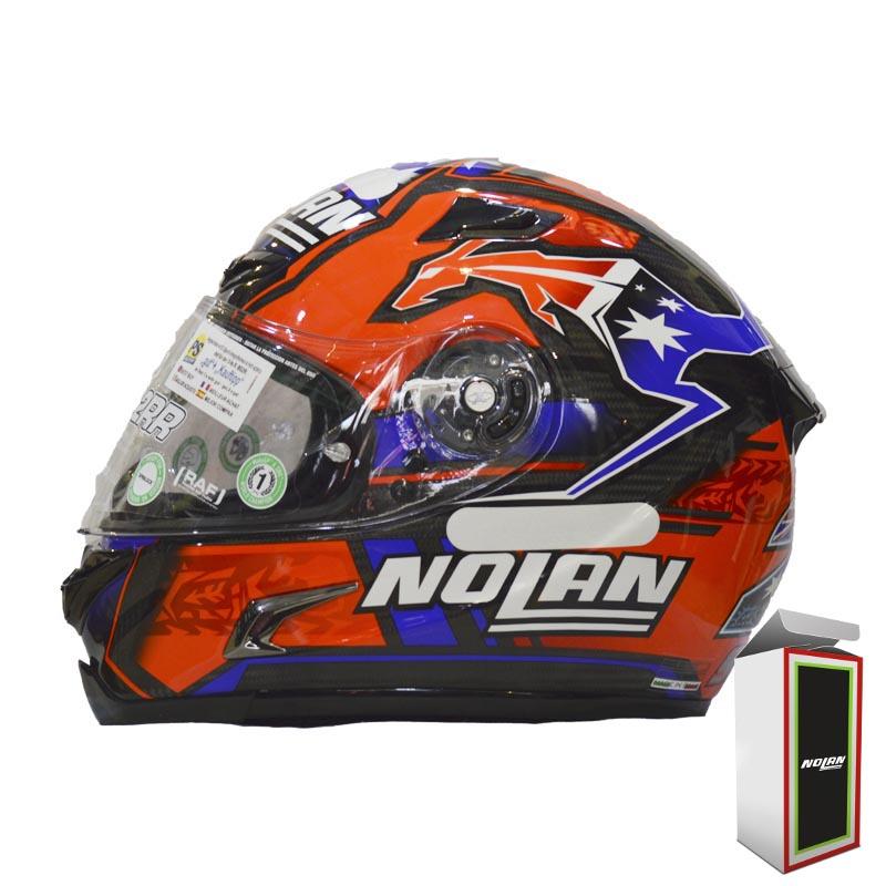 CAPACETE NOLAN X-802RR RÉPLICA STONER SUZUKA - CARBON   - Motosports