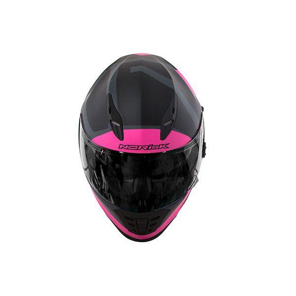 Capacete Norisk FF302 Ridic Feminino Fosco Viseira Solar  - Motosports