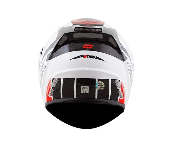 CAPACETE NORISK FF345 ROUTE MOUTION White/Black/Red LANÇAMENTO!!!  - Motosports