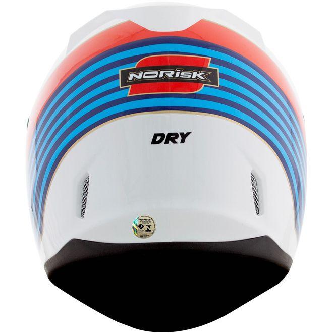 Capacete Norisk FF391 Dry Branco  - Motosports