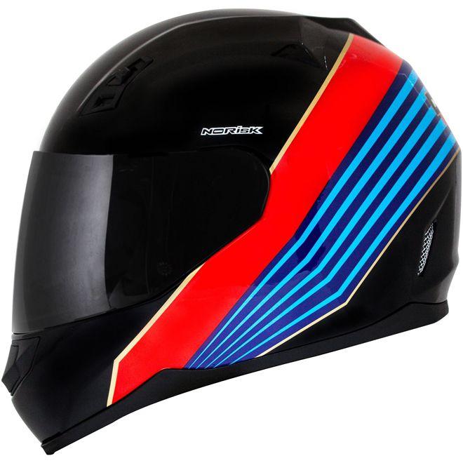 Capacete Norisk FF391 Dry Preto  - Motosports