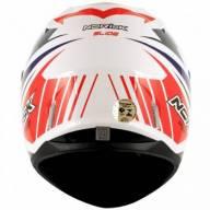 CAPACETE NORISK FF391 SLIDE BRANCO / AZUL / VERMELHO  - Motosports