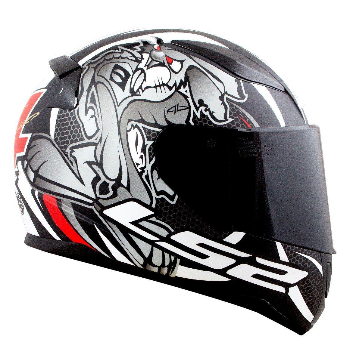 CAPACETE RAPID FF353 ALEX BARROS FOSCO - LS2  - Motosports