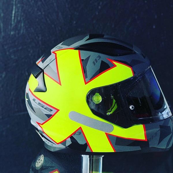 CAPACETE LS2 RAPID FF353 Rafael Paschoalin  - Motosports