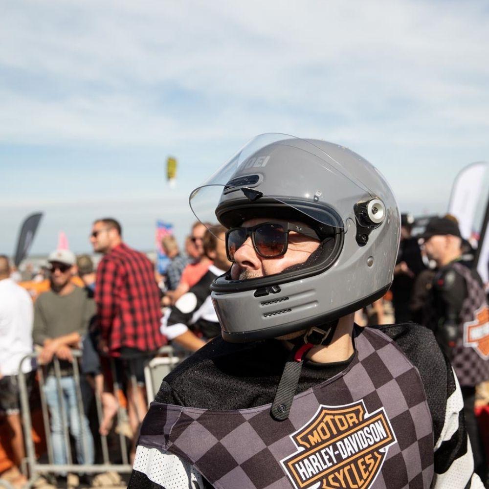 Capacete Shoei Glamster Cinza Bassalt  - Motosports