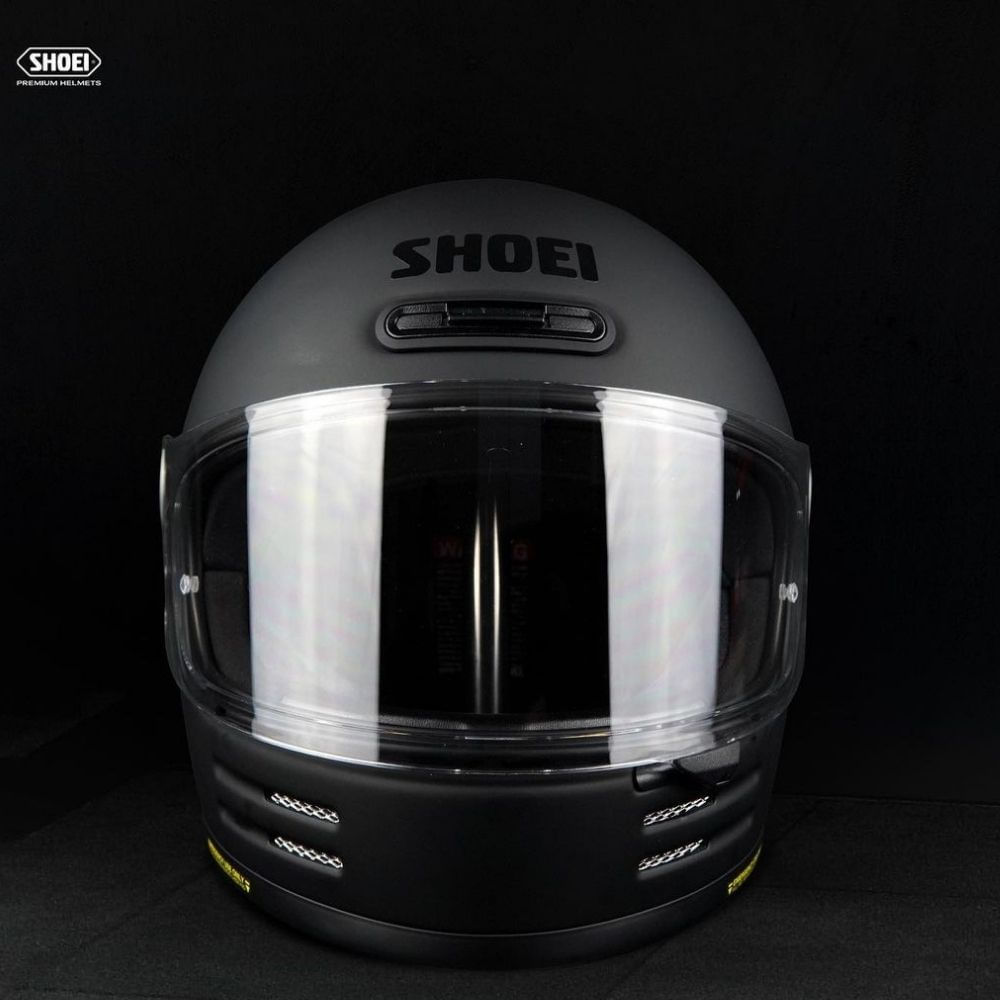 Capacete Shoei Glamster Preto Fosco  - Motosports