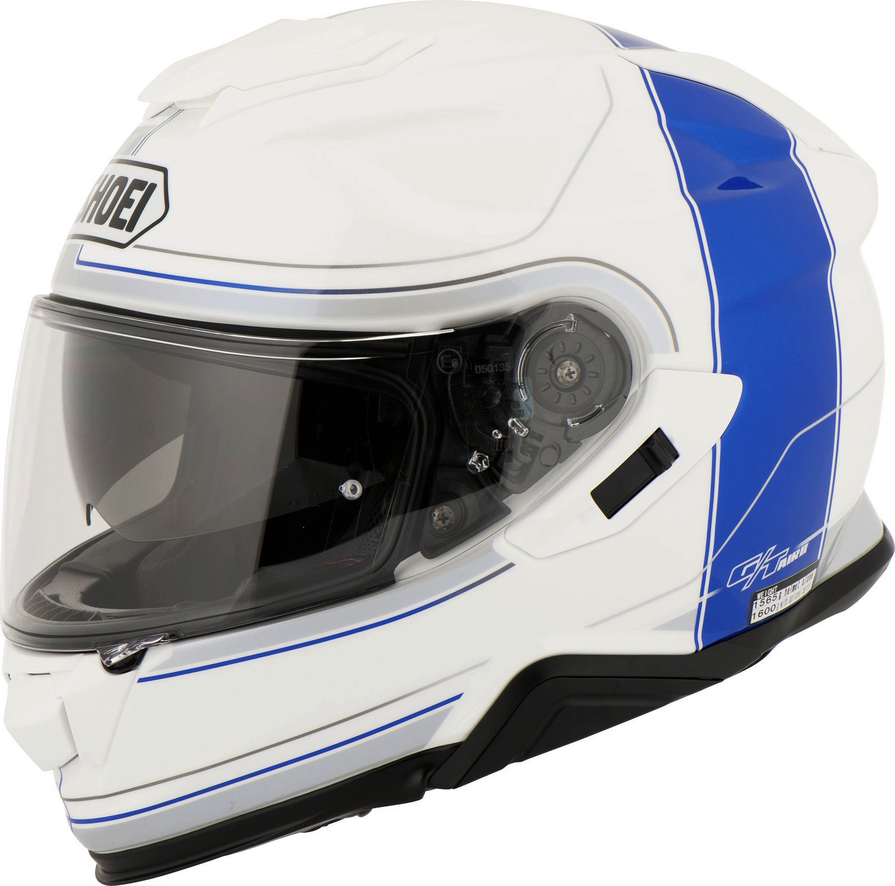CAPACETE SHOEI GT-AIR 2 Crossbar TC-2 Branco/Azul  - Motosports