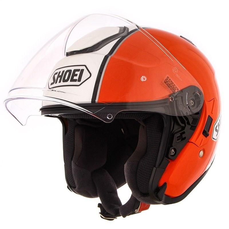 Capacete Shoei J-Cruise Corso Orange/Black  - Motosports