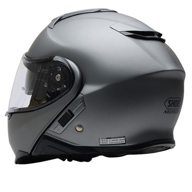 Capacete Shoei Neotec 2 cinza fosco Escamoteável - PRONTA ENTREGA  - Motosports