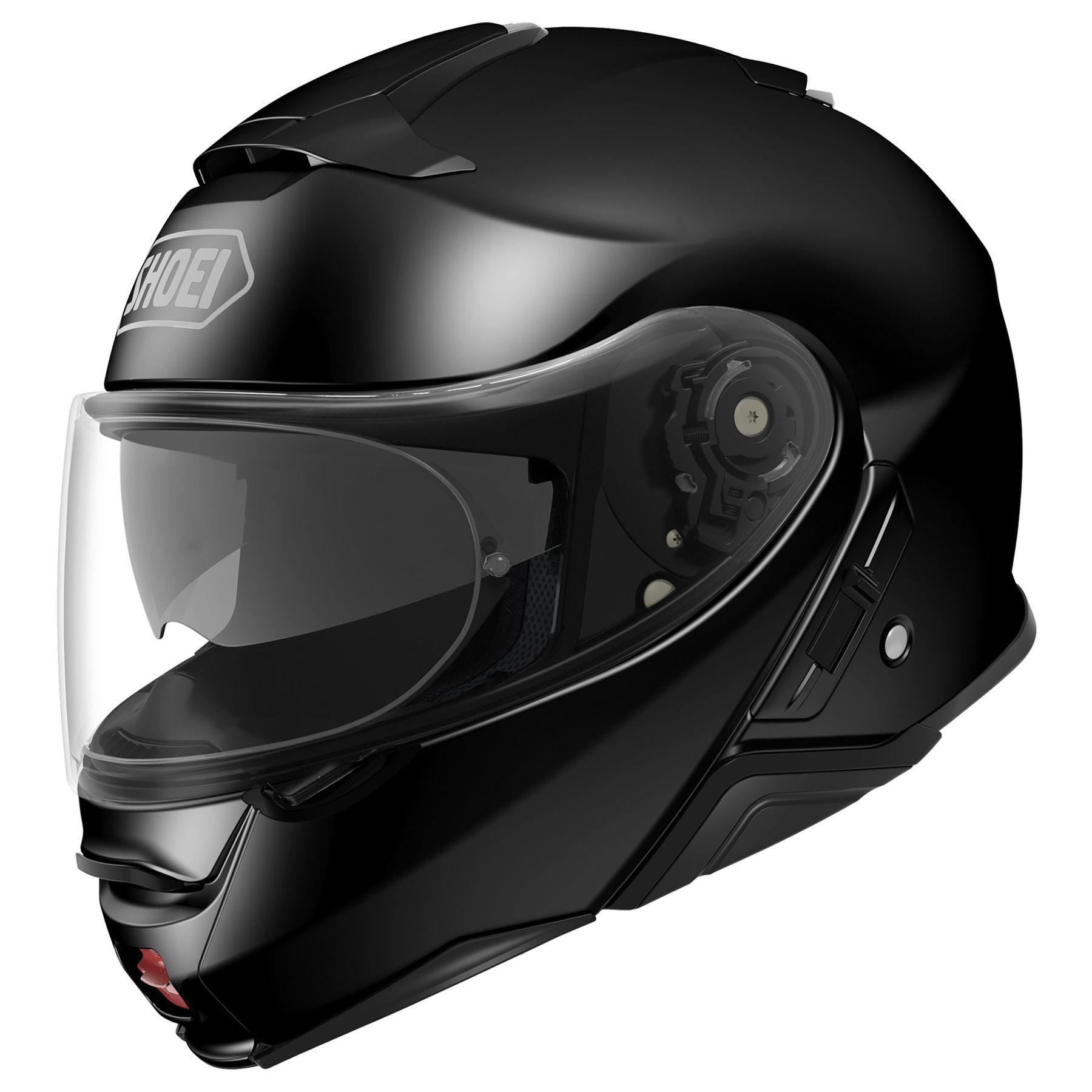 CAPACETE SHOEI NEOTEC 2 - EXCURSION PRETO BRILHO  - Motosports