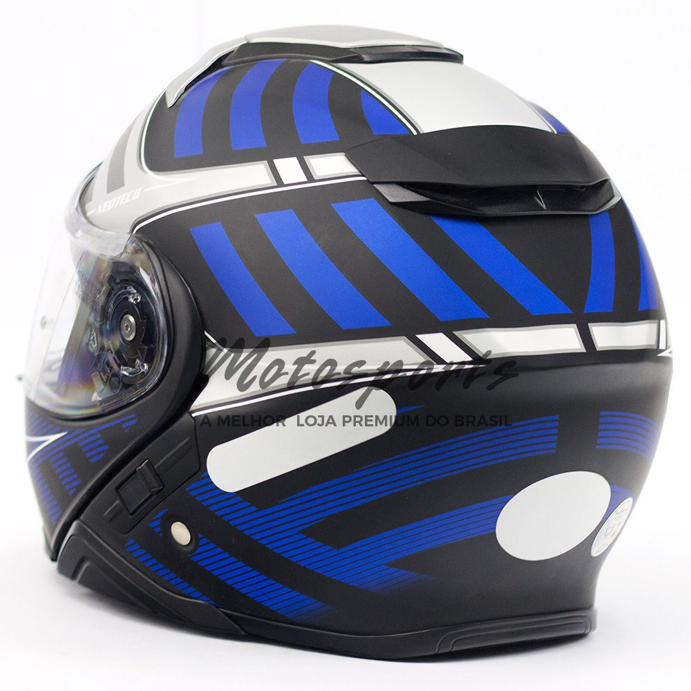Capacete Shoei Neotec 2 Splicer TC-2 Azul Escamoteável - NOVO!  - Motosports