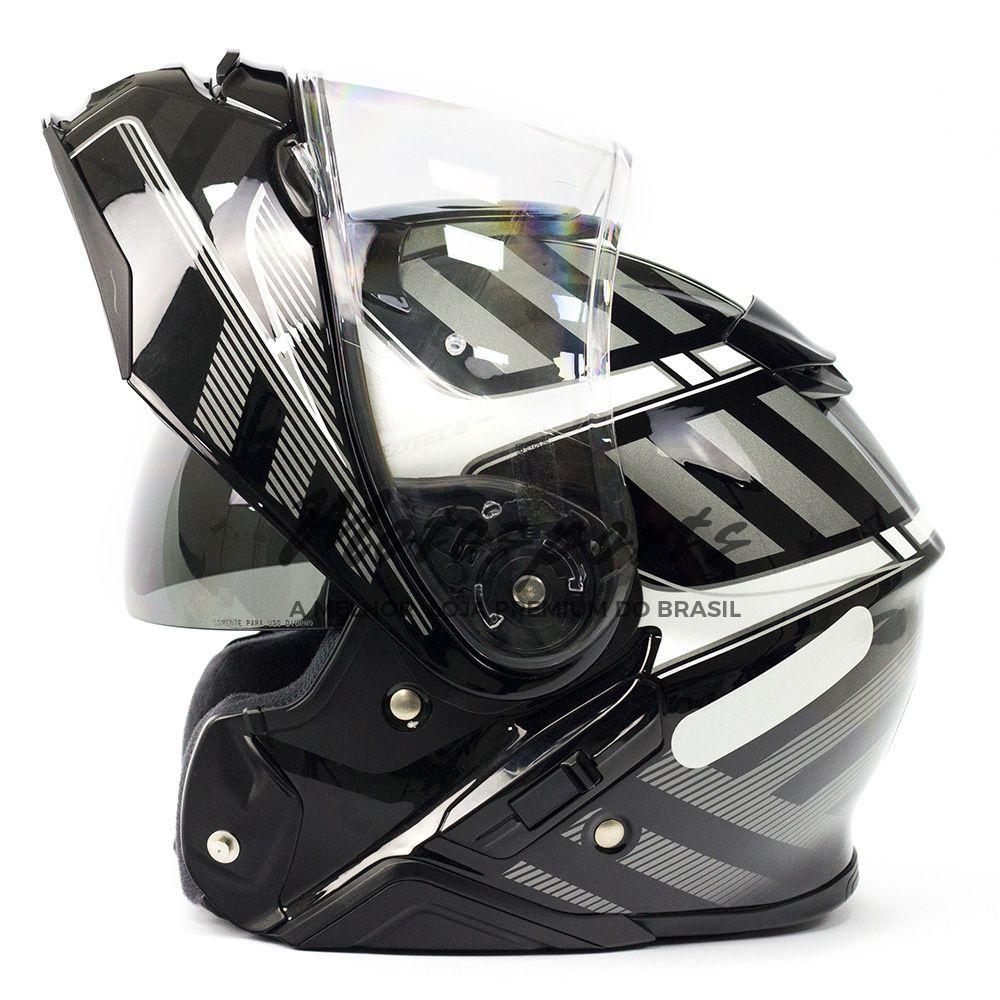 Capacete Shoei Neotec 2 Splicer TC-5 Cinza Escamoteável - NOVO!  - Motosports