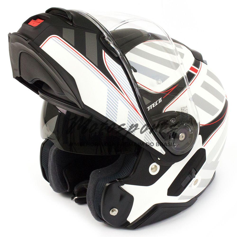 Capacete Shoei Neotec 2 Splicer TC-6 vermelho Escamoteável - NOVO!  - Motosports