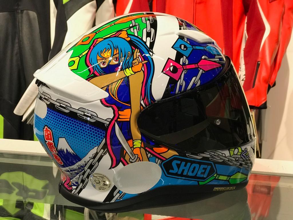Capacete Shoei NXR STIMULI TC-10   - Motosports