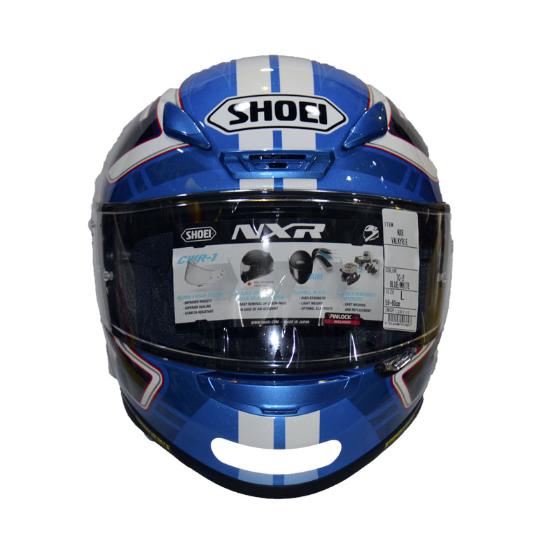 Capacete Shoei NXR Valkyrie Azul TC-2  - Motosports