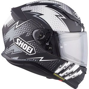 CAPACETE SHOEI NXR VARIABLE TC-5 Preto/Branco Fosco - NOVO !  - Motosports