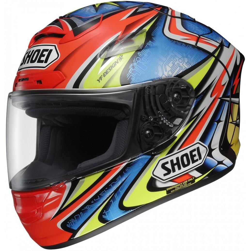 Capacete Shoei X-Spirit II Daijiro Kato TC-1  - Motosports