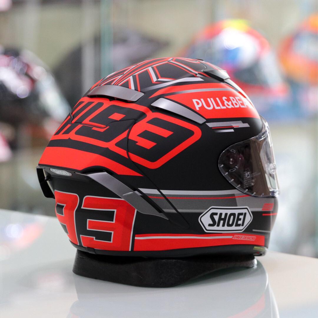 CAPACETE SHOEI  X-SPIRIT 3  PULL E BEAR TC-1  - Motosports