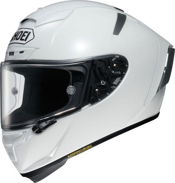 CAPACETE SHOEI X-SPIRIT III BRANCO (X-Fourteen / ESPORTIVO)  - Motosports