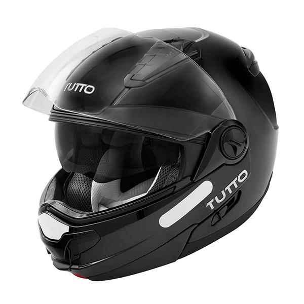 Capacete Tutto Open Flex Black NOVO!  - Motosports