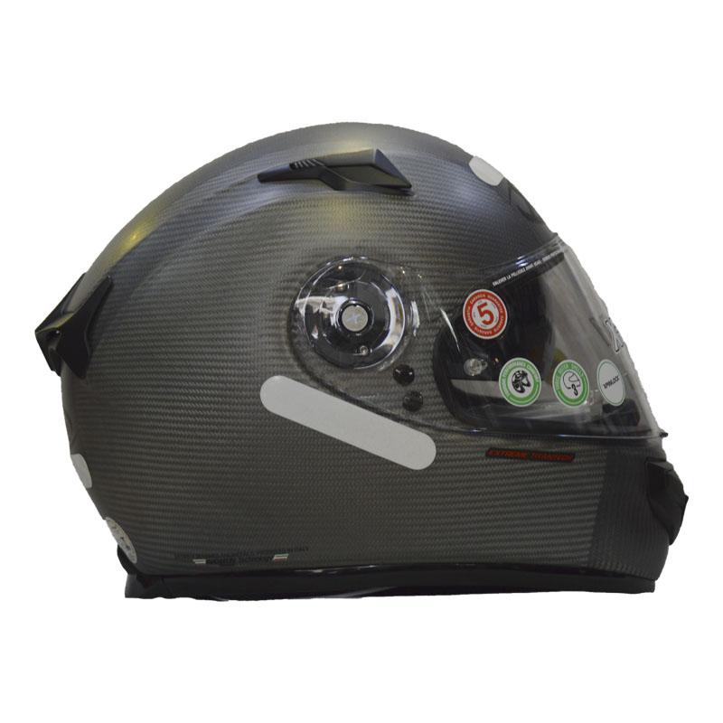 CAPACETE X-LITE X-661 EXTREME TITAN-TECH PURO N-COM - FLAT TITANIUM (COMPRE E GANHE UMA BALACLAVA)  - Motosports