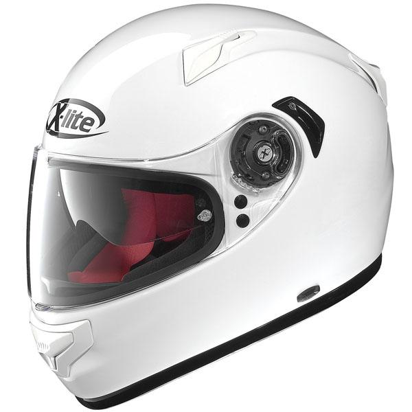 CAPACETE X-LITE X-661 START FLAT WHITE  - Motosports
