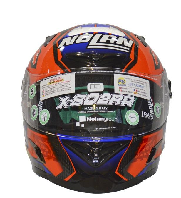 Capacete X-lite X-802RR ULTRA CARBON REPLICA STONER (COMPRE E GANHE UMA BALACLAVA)  - Motosports